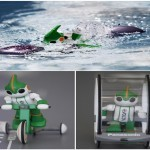 Evolta Triathlon Robot